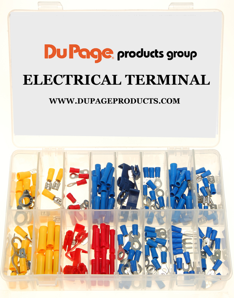 160 piece electrical terminal assortment dupage products group