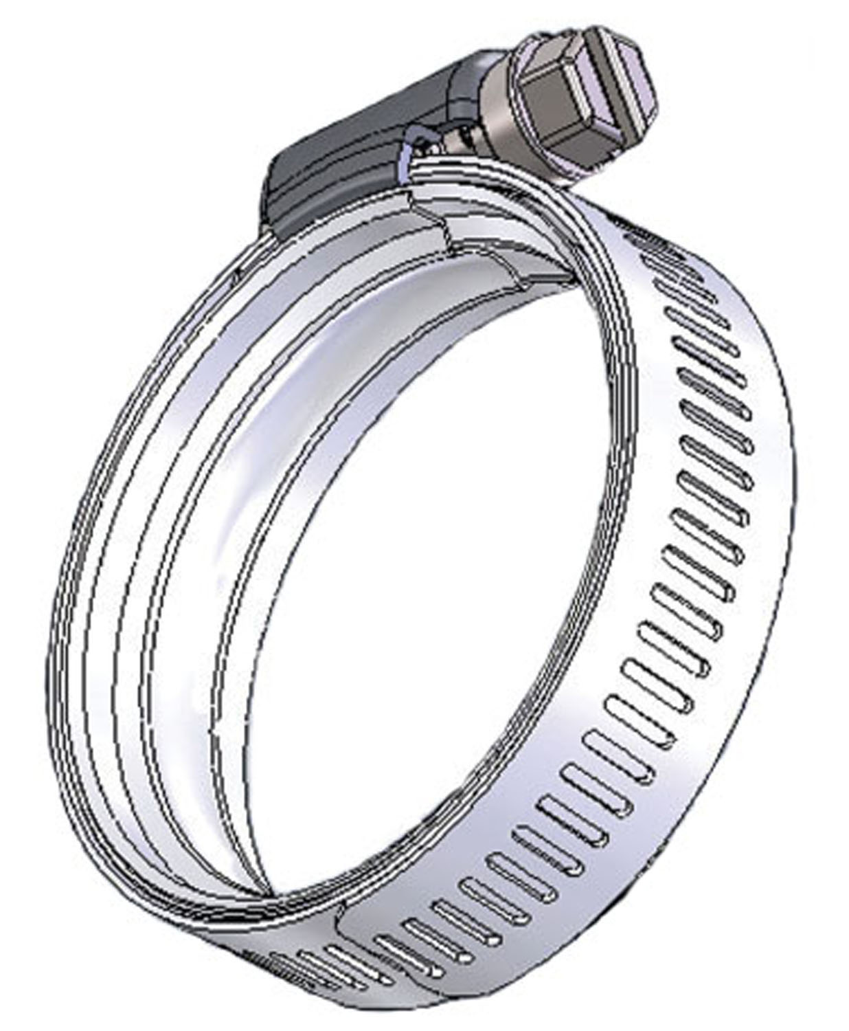 Wave Seal 360™ (Constant Tension) Hose Clamps | DuPage Products Group for Hose Ring Clamp  303mzq